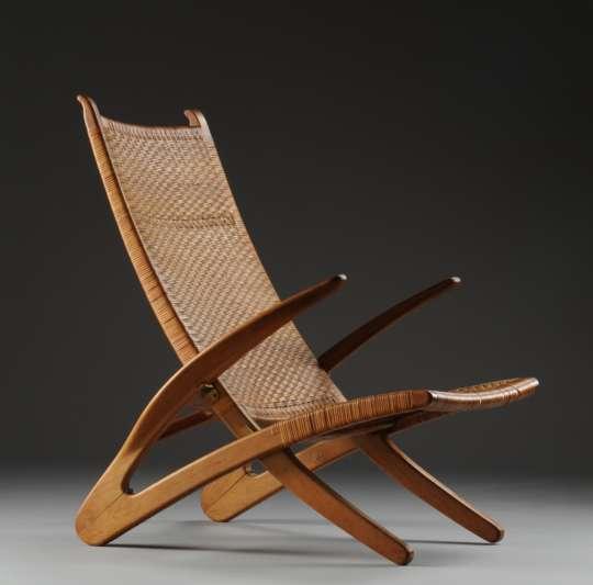 Hans J Wegner Dolphin Chair