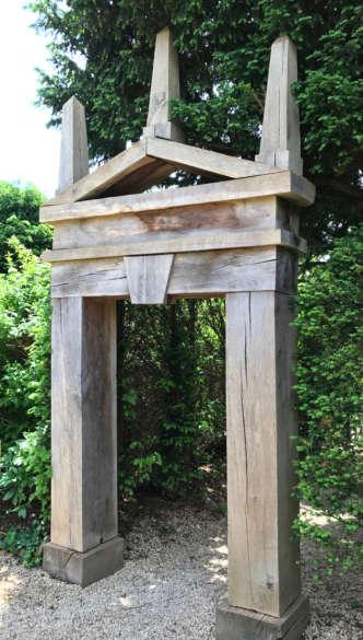Wooden Obelisk Frame