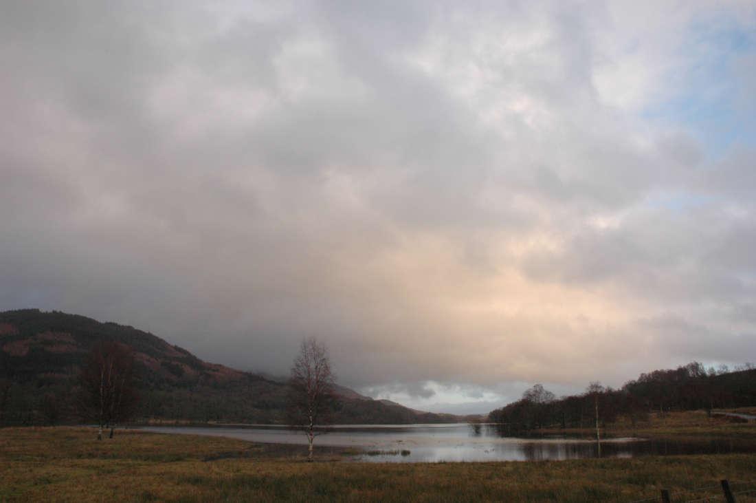 Reflected Loch Light