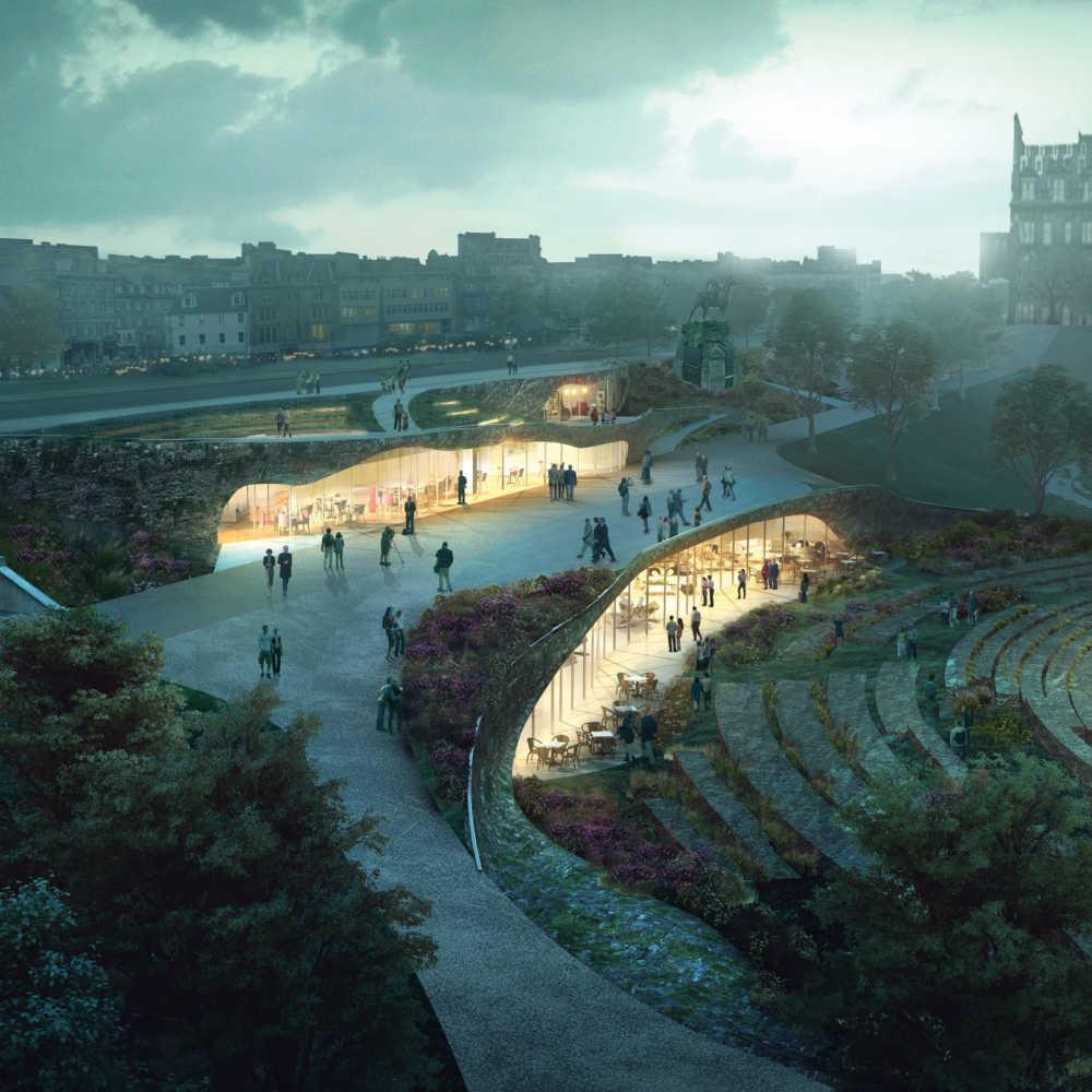 Ross Pavilion Why Competition Edinburgh Scotland Landscape Urbanism Dezeen Sq A