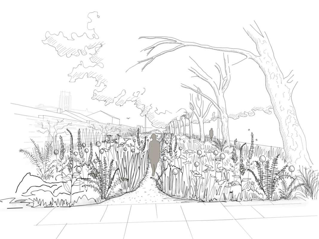 Park Lane Sketch 1