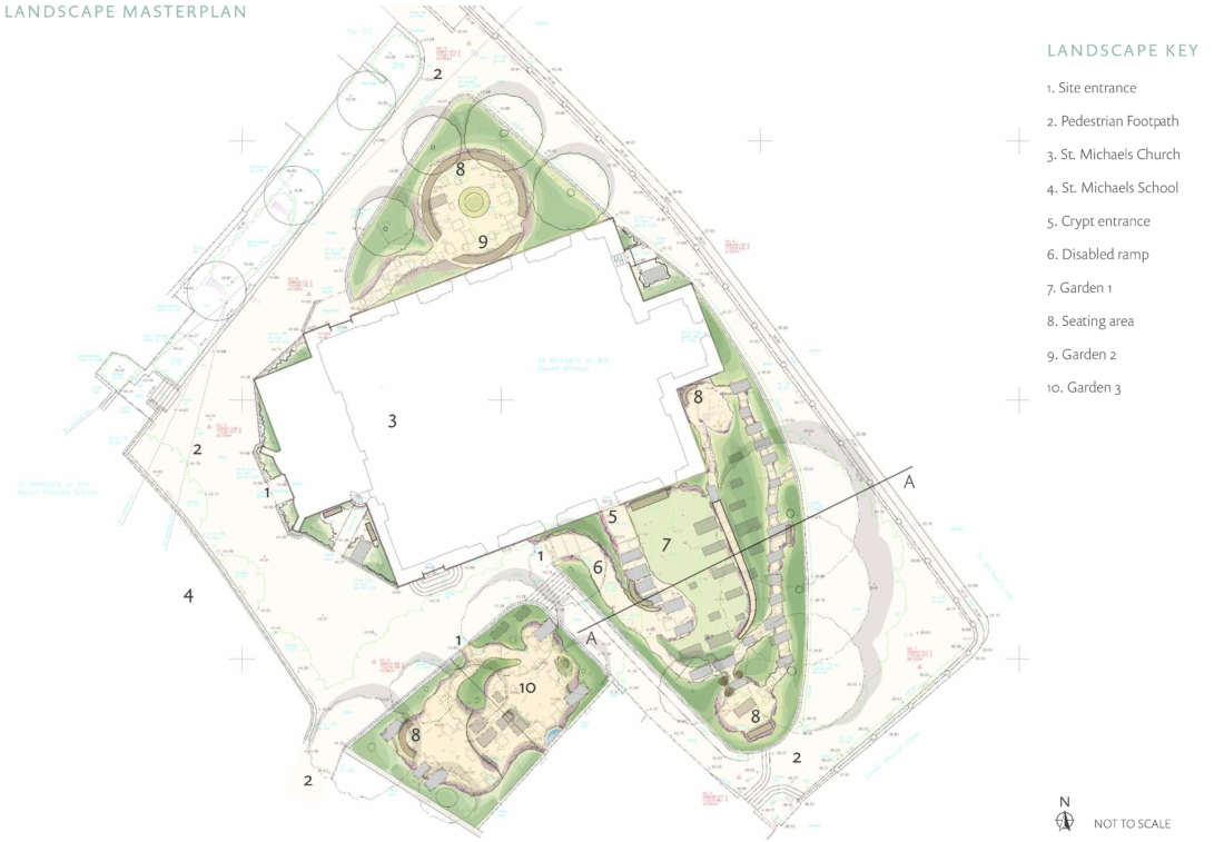 The Mount Without Landscape Masterplan