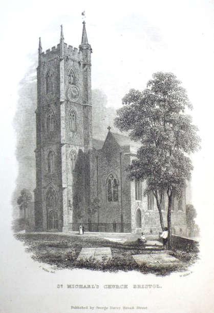 Etching Of Church